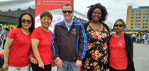 TCDSB Adult Education Participates in Community BBQ