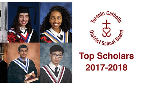 2018 Top Scholars at TCDSB