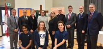 St. Clement New Addition Ribbon Cutting and...