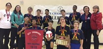 Boys Elementary Intermediate Volleyball Champions