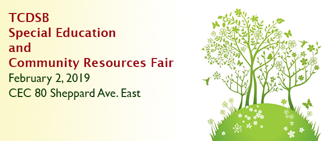 Special Education and Community Resources Fair