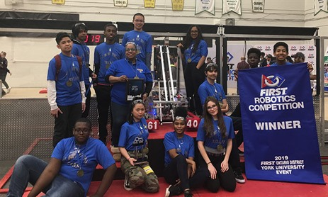 St. Mother Teresa is Ranked No. 1 at York University 2019 FIRST Robotics District Event