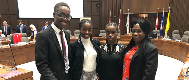 Farewell to Student Trustee