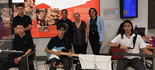 MPSJ Musicians Perform at Humber River Hospital' s Community Open House