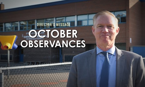 October Message from Director McGuckin