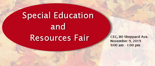 TCDSB Special Education & Resources Fair