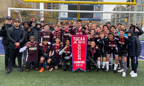 MPSJ Junior Boys Soccer Team Named 2019 TDCAA Champs!