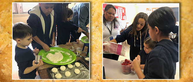 St Sebastian Students Study Indigenous Cooking