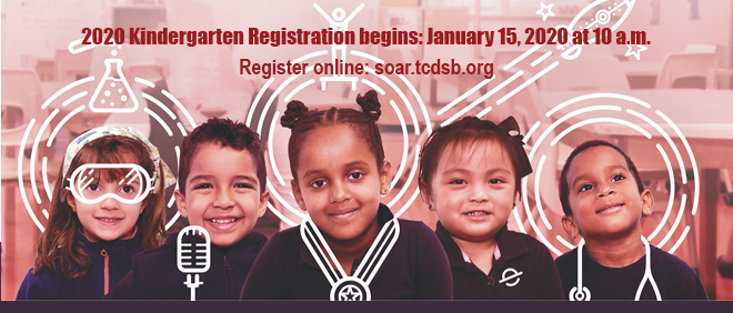 2020 Kindergarten Registration