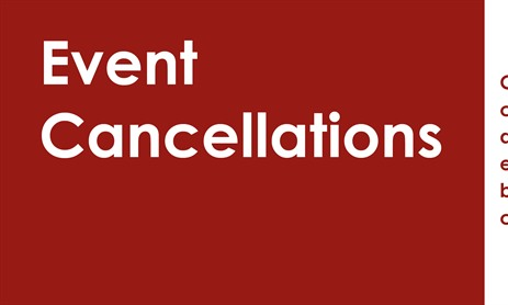 April Events: Cancelled