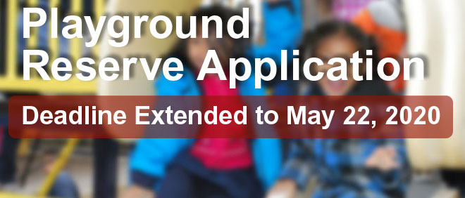 Playground Reserve Application and Selection Process