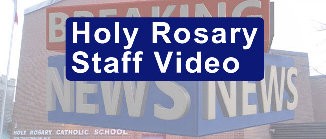 Holy Rosar​y Staff Video