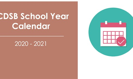 Elementary & Secondary School Year Calendar 2020 - 2021