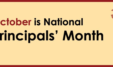 National Principals' Month