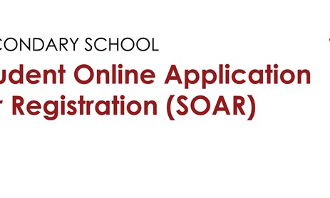 Secondary School Online Application Process