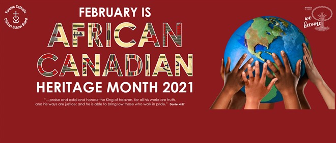 African Canadian Heritage Month Events 2020-2021
