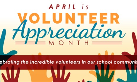 Volunteer Appreciation Month