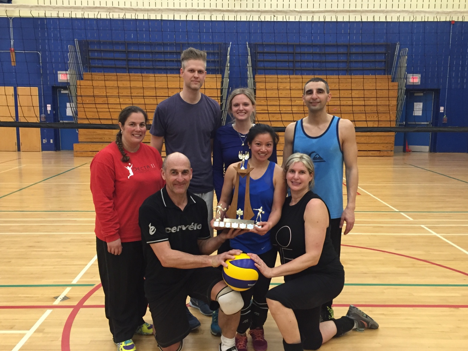 Congratulations to the team from St. Brendan Catholic School, winner of this year's TECT Level B Volleyball Championships.