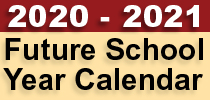 Future School Year Calendar