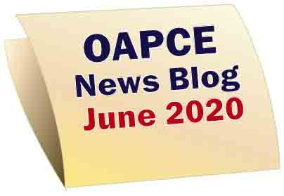 OAPCE News Blog