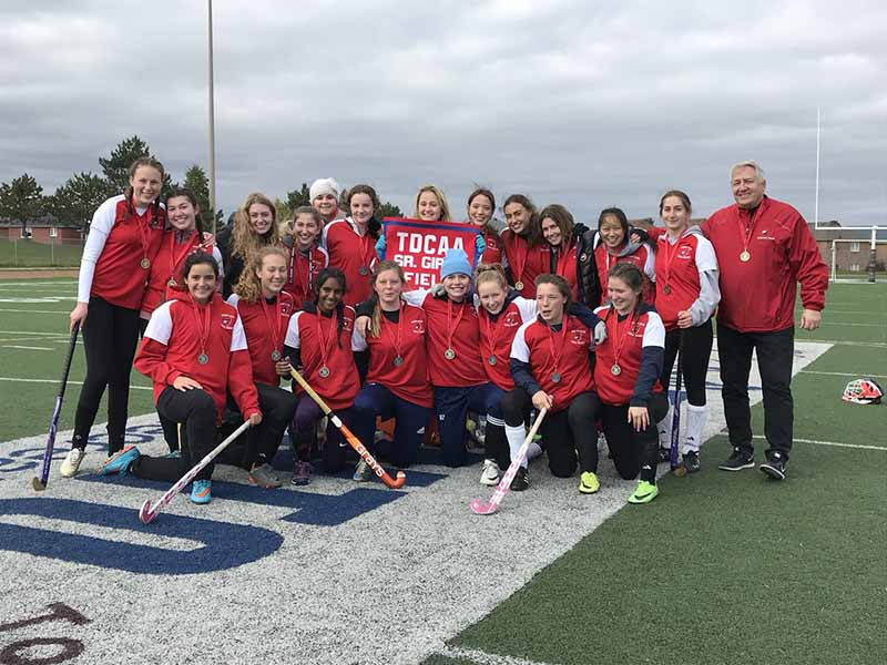 Girls field hockey team
