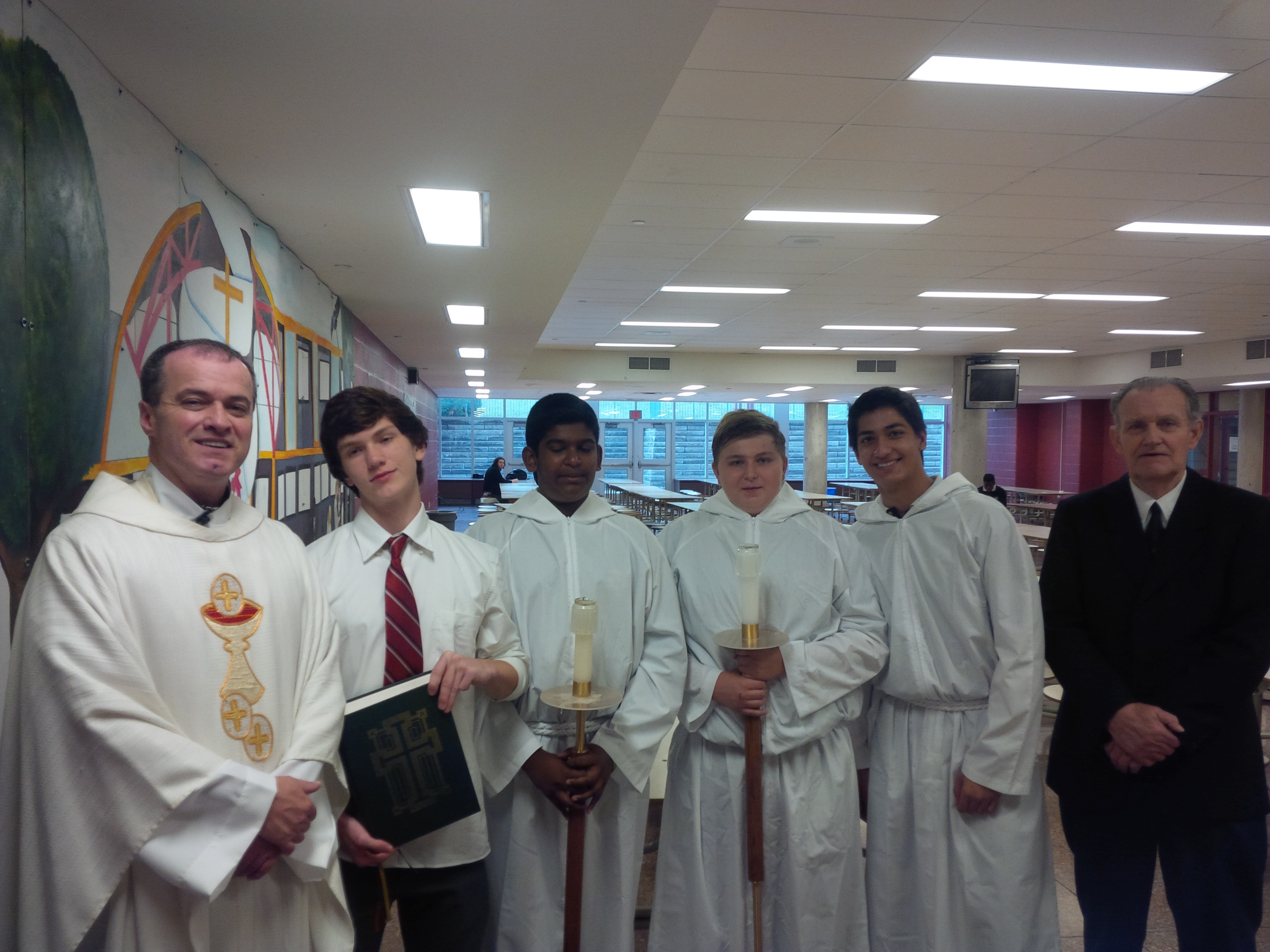 Father Murphy and students.jpg