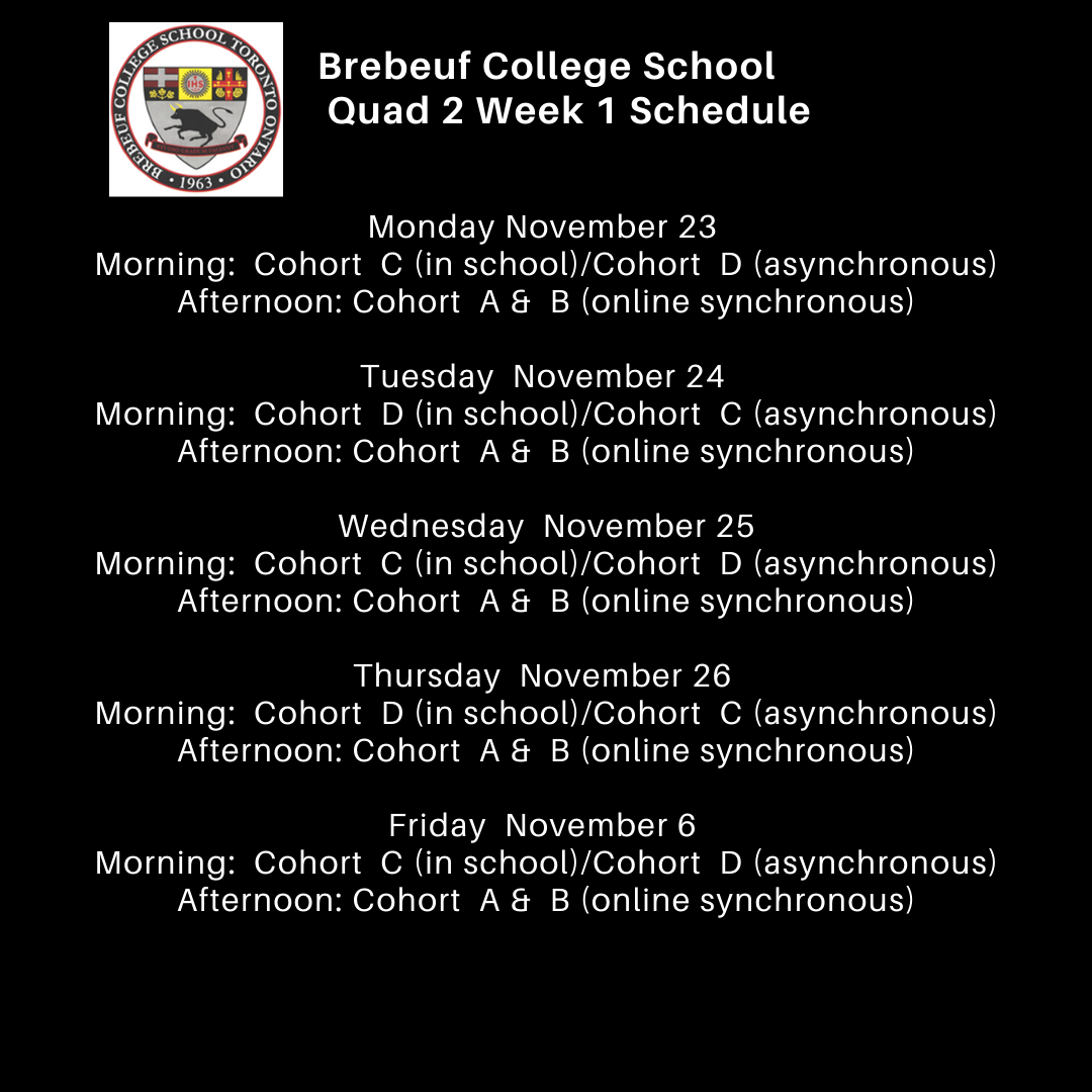 thumbnail_Brebeuf HS Schedule Quad 2 Week 1.png
