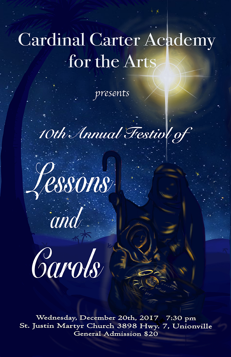 Cardinal Carter Academy for the Arts presents Lessons and Carols