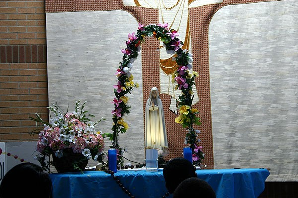 Crowning Of Our Blessed Mother