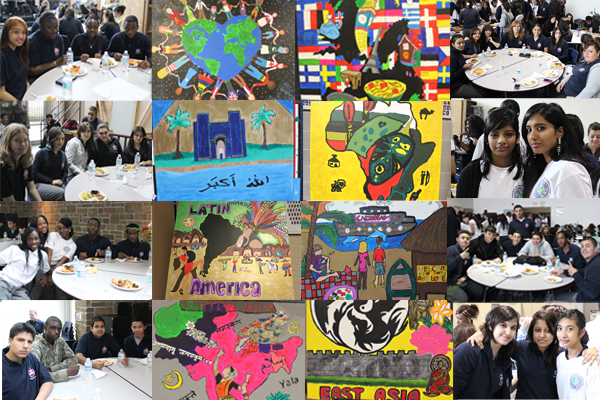 Multicultural Week collage