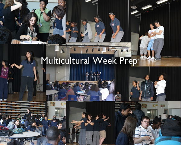 Multicultural Week Prep collage