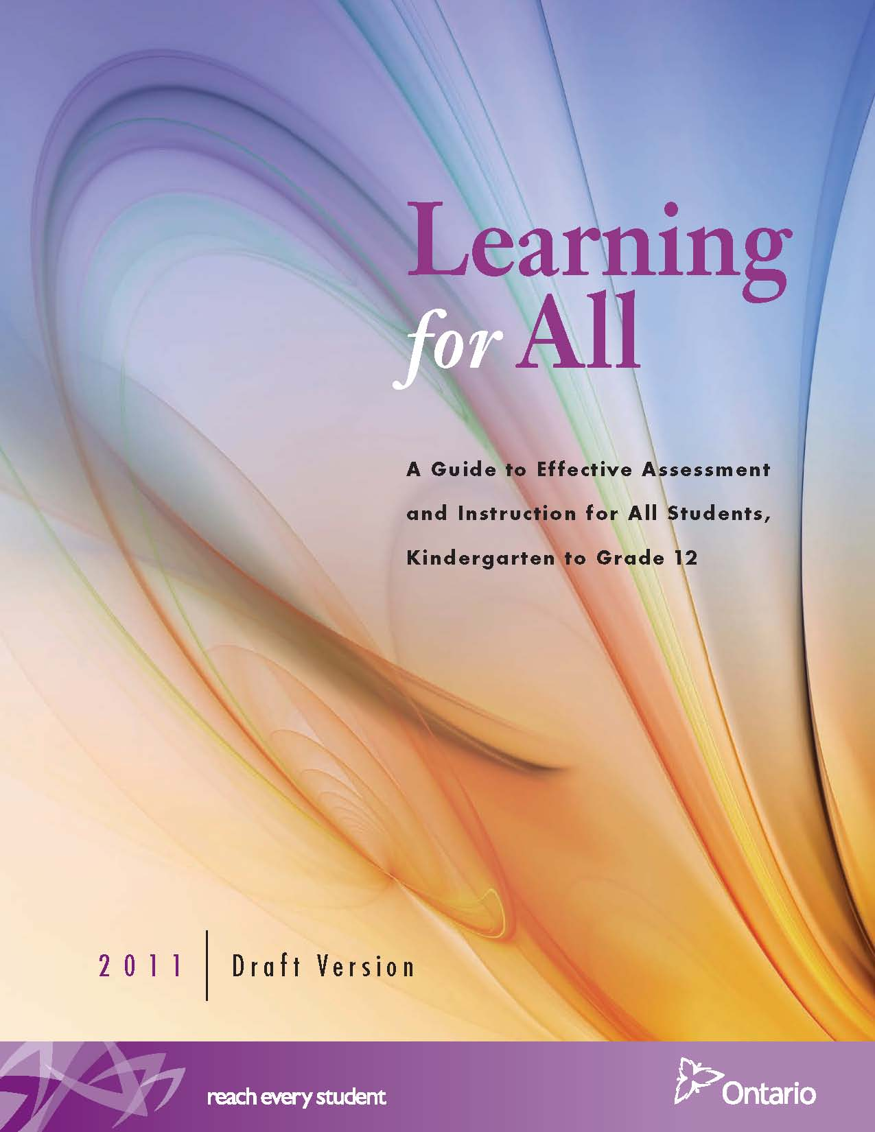 learning and assessment in practice essay When students actively participate in assessing their learning by interpreting their   be built into teachers' planning as a part of everyday classroom practice.