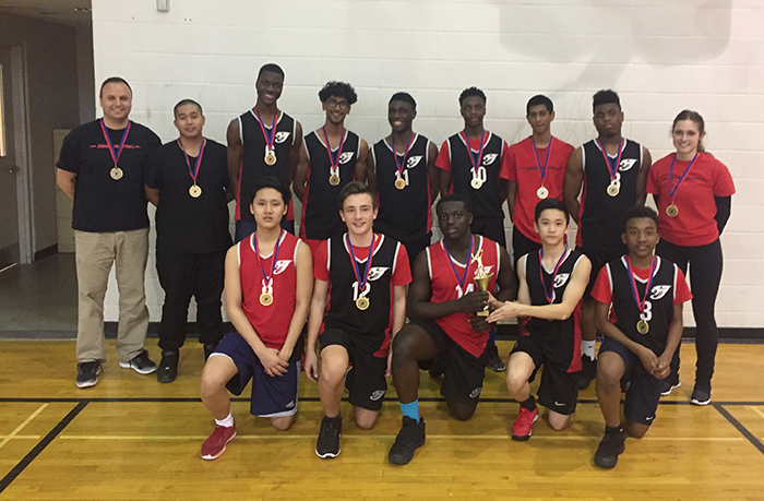 Invitational Monsignor Percy Johnson Jaguars Boys Volleyball team