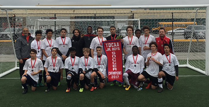 junior Boys Soccer Team photo