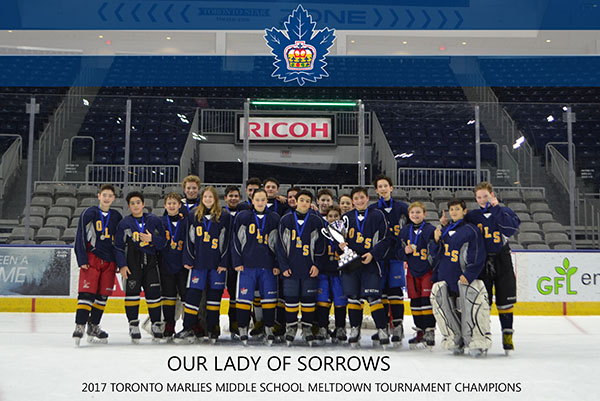 Our Lady of Sorrows team photo