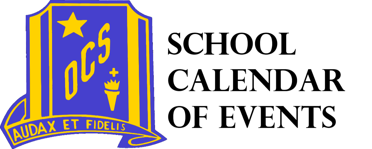 School Calendar of Events