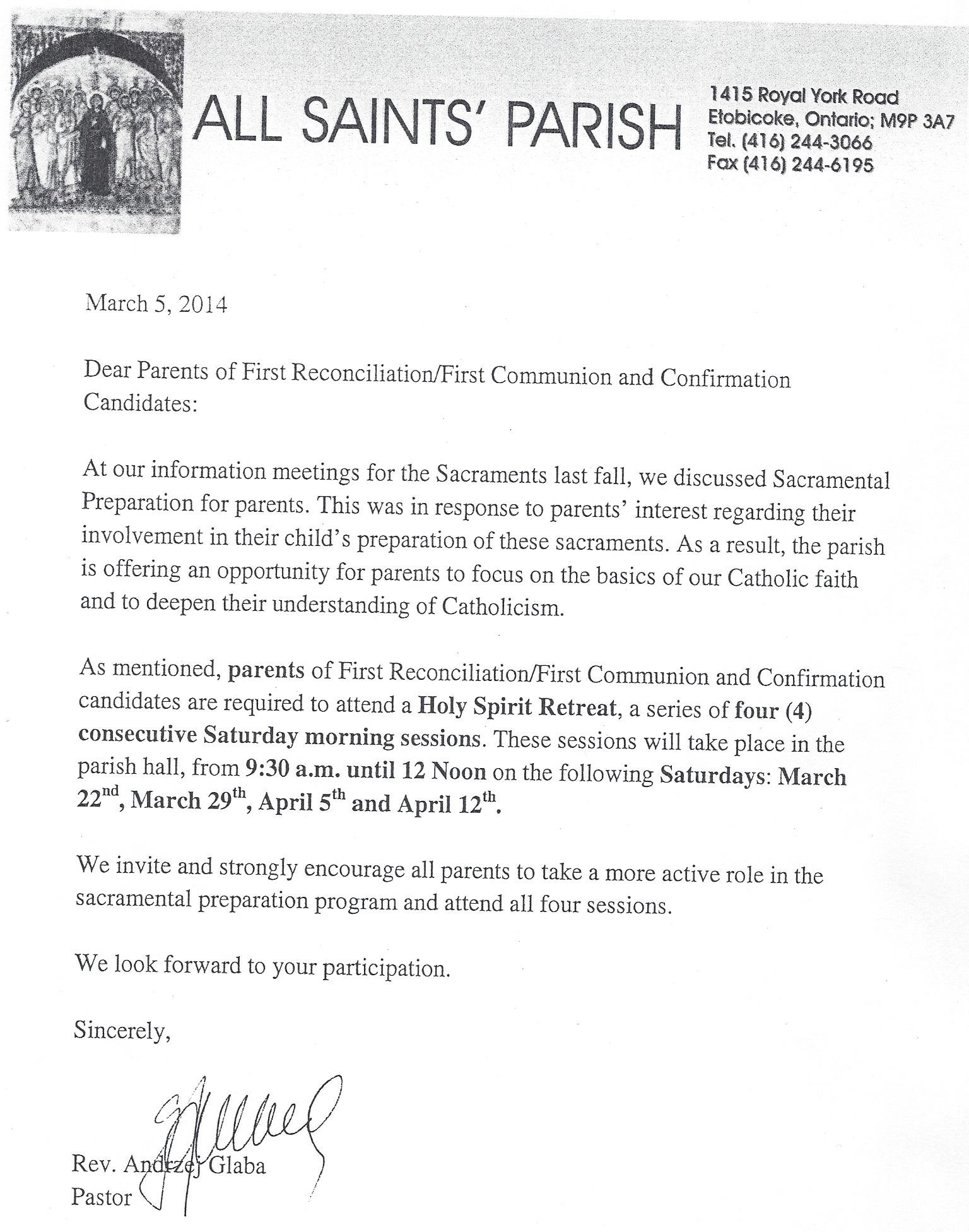 Notice to Parents RegardinFirst Holy Communion and Confirmation.jpg
