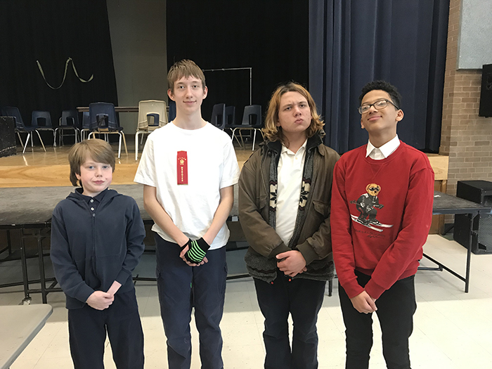 Gifted debate team