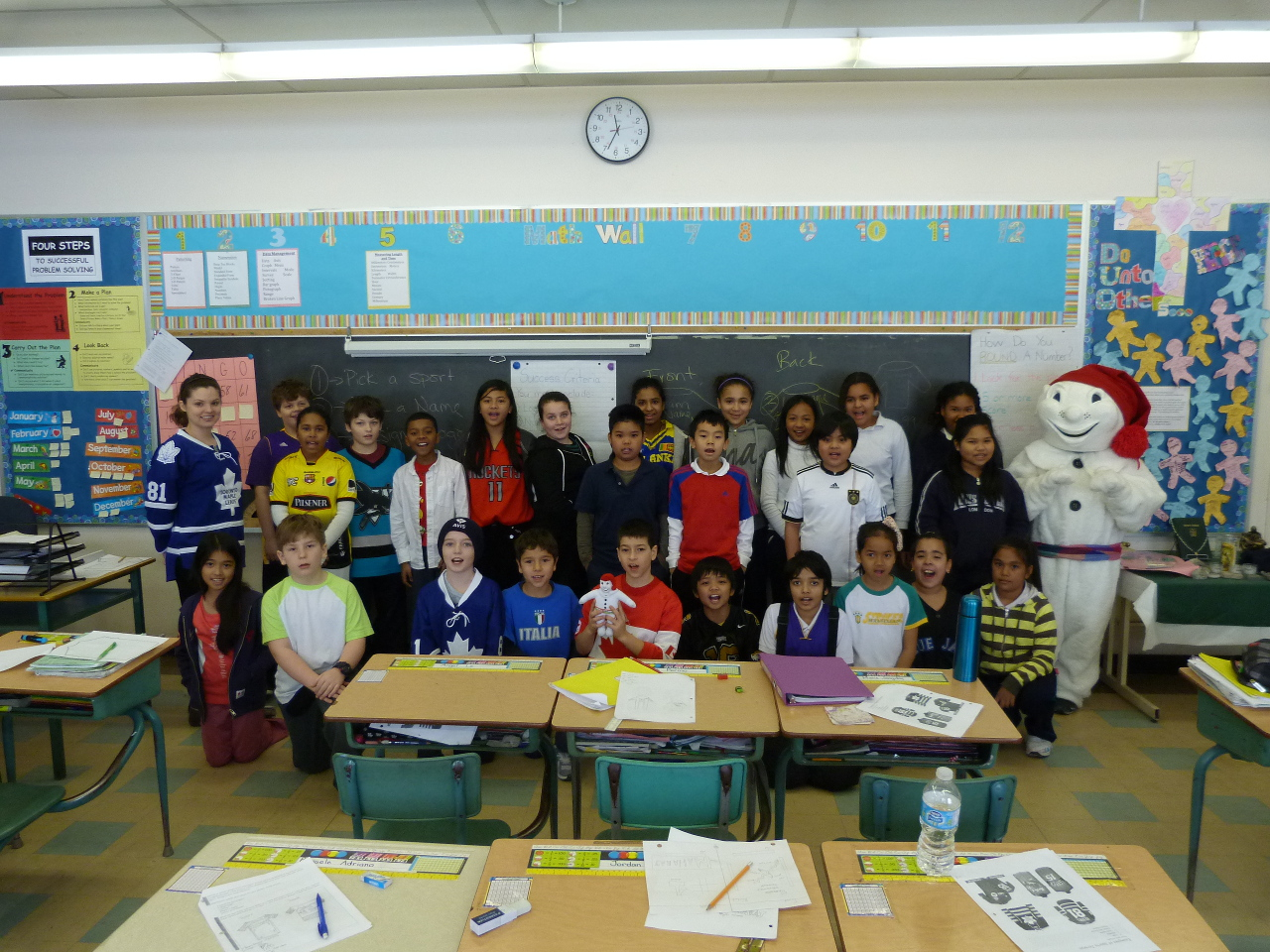 Bonhomme and students