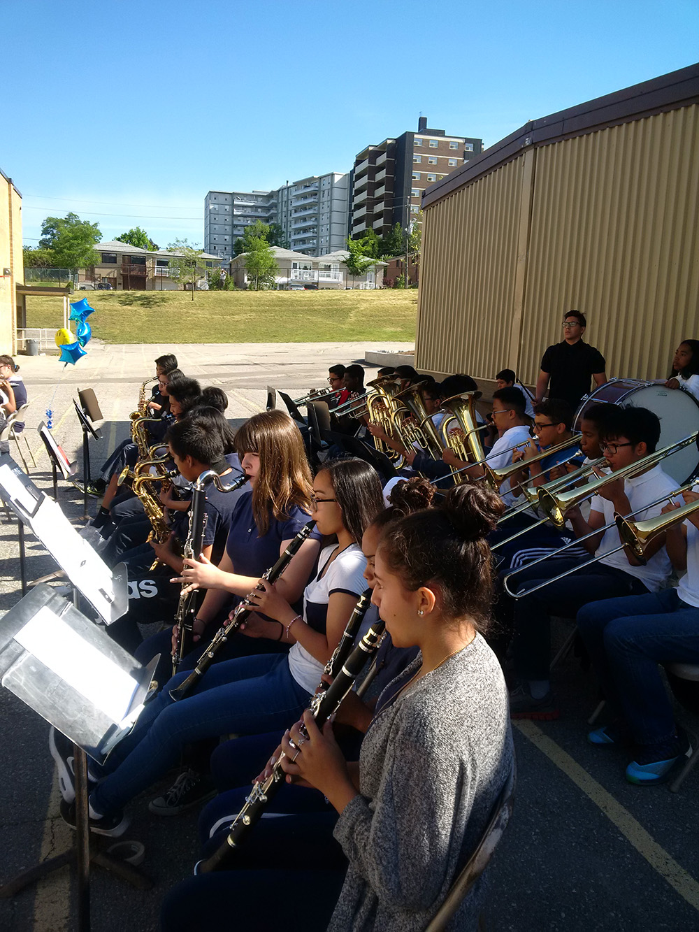On June 23, 2016, students, staff and parents were treated to the wonderful sounds of the Intermediate Band.
