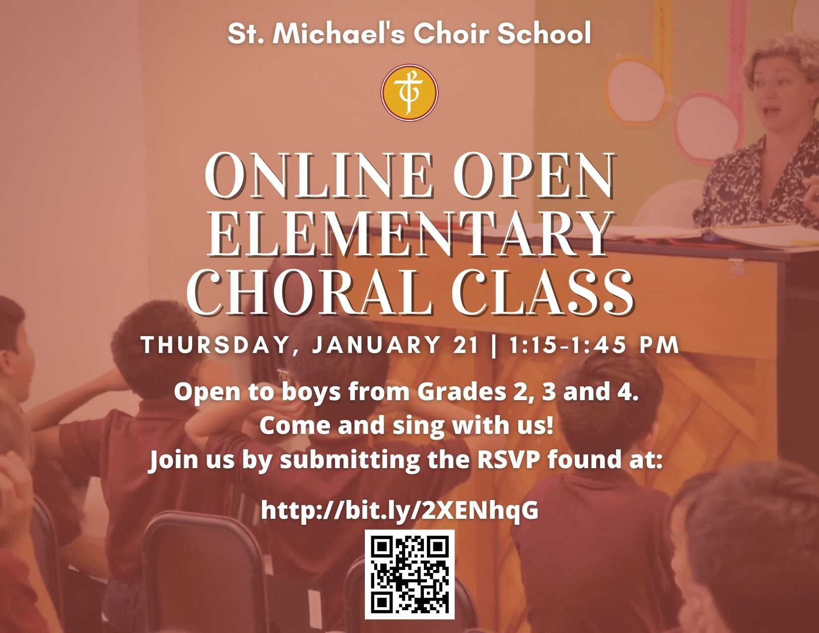 Online Elementary Choral Class
