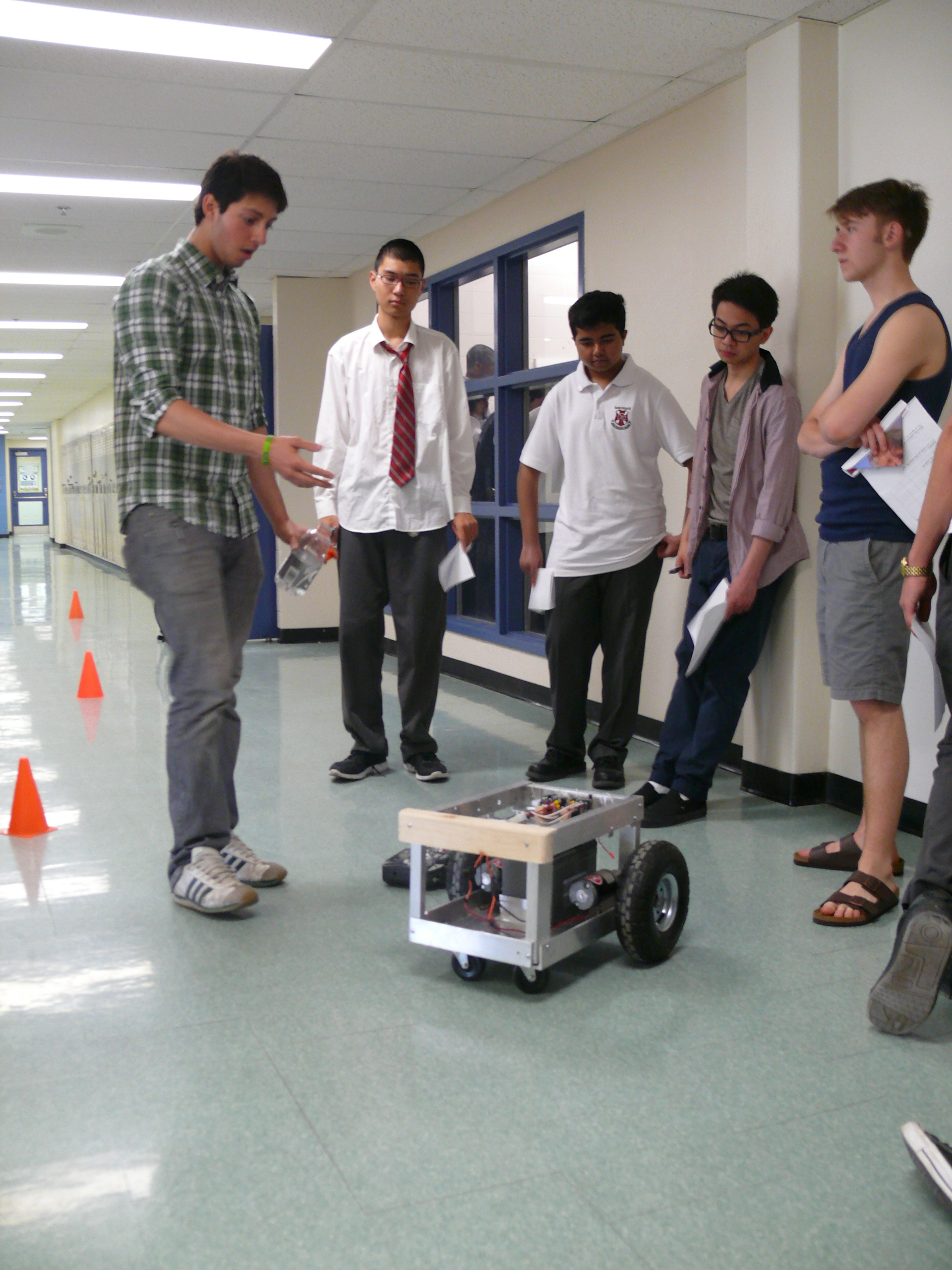 Students showcase their toy invention