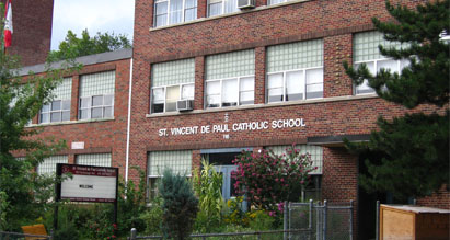 St. Vincent De Paul School Building